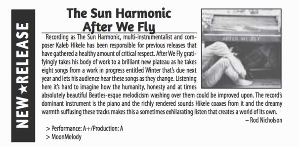 SCENE Magazine (London) album review